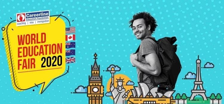 Career Line World Education Fair 2020 In Ahmedabad