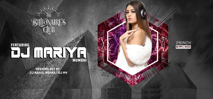 Catch Model DJ Mariya From Mumbai Live At TBC, Chandigarh