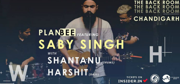 Catch Saby Singh Live At The Back Room, Chandigarh!