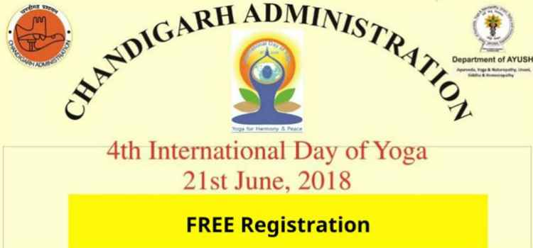 Celebrate International Day Of Yoga At Sector 17 Plaza, Chandigarh.