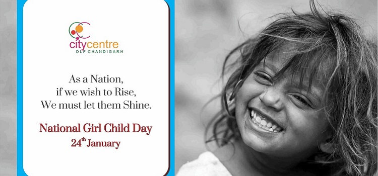 Celebrate National Girl Child Day At City Centre DLF, Chandigarh