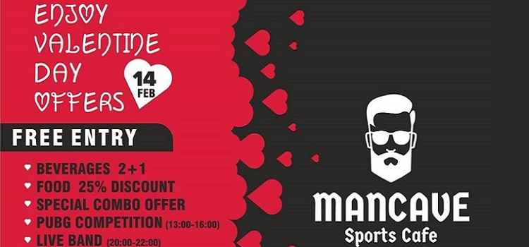 Celebrate Valentines Day At Mancave Sports Cafe