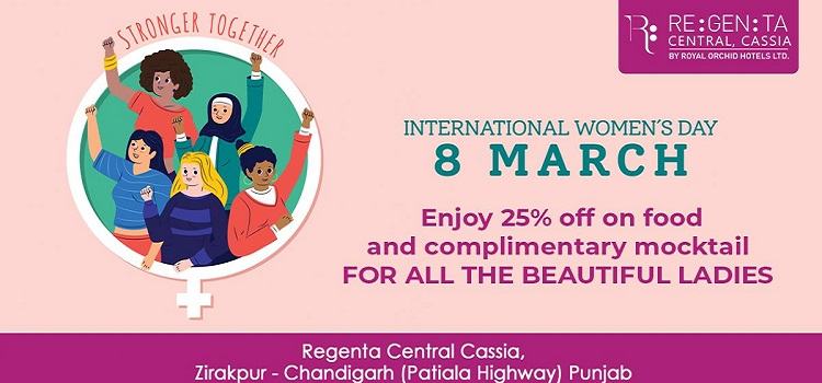 Celebrate Women's Day At Regenta Central