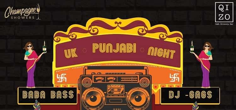 UK Punjabi Night At Qizo Chandigarh