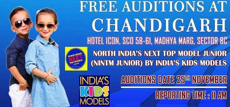 Chandigarh Auditions For North India's Top Junior Models