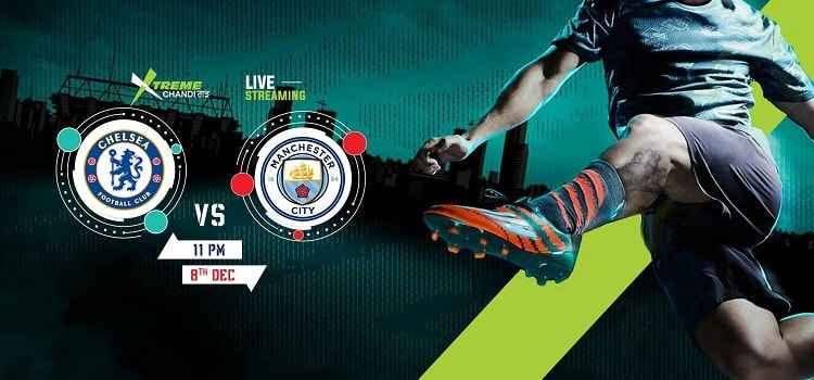 Enjoy Chelsea vs Manchester City Match Live At Xtreme, Chandigarh