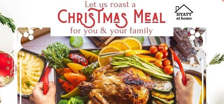 Christmas Meal At Urban Cafe - Hyatt Chandigarh