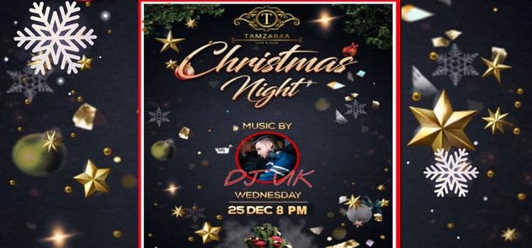 Christmas Eve at Tamzaraa Kafe & Club Chandigarh