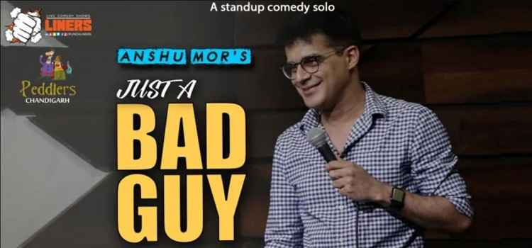 Comedian Anshu Mor live At Peddlers Chandigarh by Peddlers