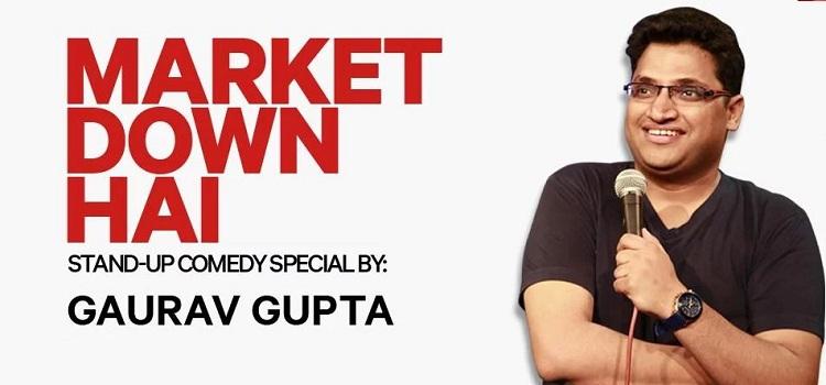 Comedian Gaurav Gupta In Chandigarh
