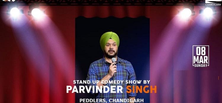 Comedian Parvinder Singh At Peddlers Chandigarh