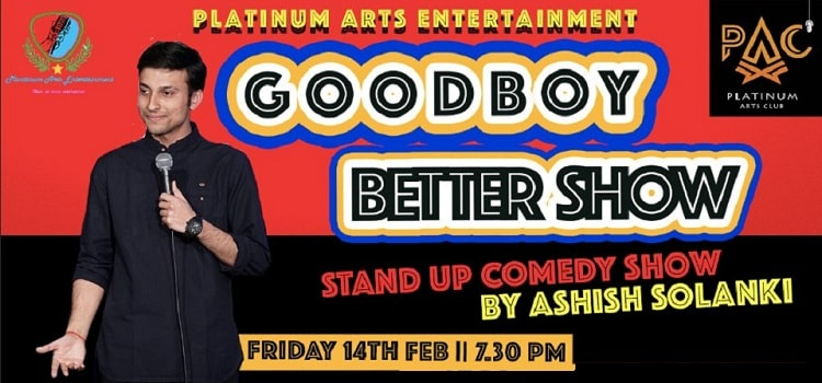 Comedy By Ashish Solanki At PAC Chandigarh by Platinum Arts Club