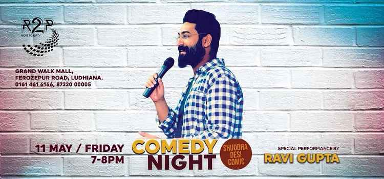 Laughter Riot With Shuddha Desi Comic At R2P