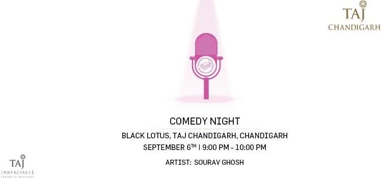 Comedy Night Ft. Sourav Ghosh At Taj Chandigarh