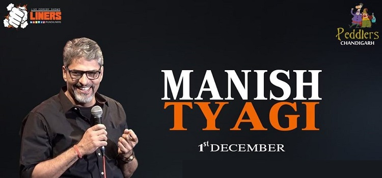 Comedy Show ft. Manish Tyagi Live At Peddlers by Peddlers
