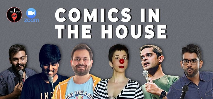 Online Comics Event in The House