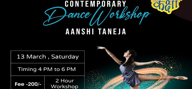 Contemporary Dance Workshop By Anshi Taneja At Sector 7