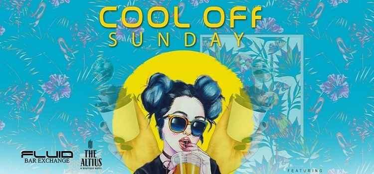 Cool Off Sunday Ft. Dj Jam And Dj Vshl At Fluid Bar, Chandigarh