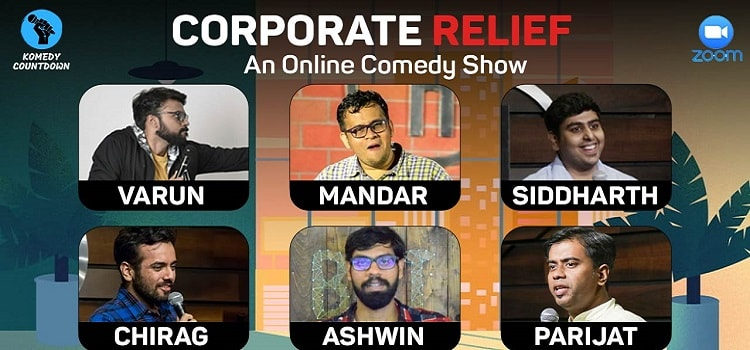 Corporate Relief - An Online Comedy Show