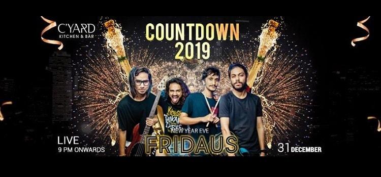Countdown 2019- Fridaus Live At Cyard