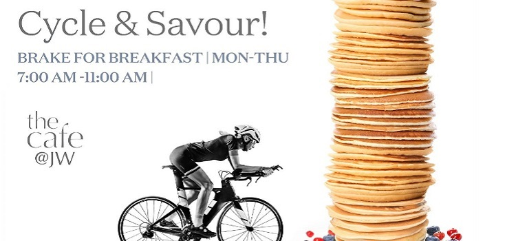 Cyclist Breakfast Buffet At JW Marriott Chandigarh by The Cafe - JW Marriott