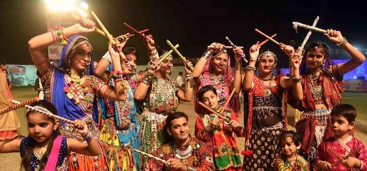 Dandiya & Garba Night At Tamzaraa Chandigarh