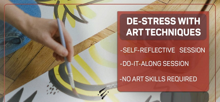 De-stress With Art Techniques Session