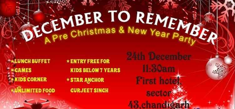 December To Remember: A Pre Christmas & New Year Party At The First Hotel