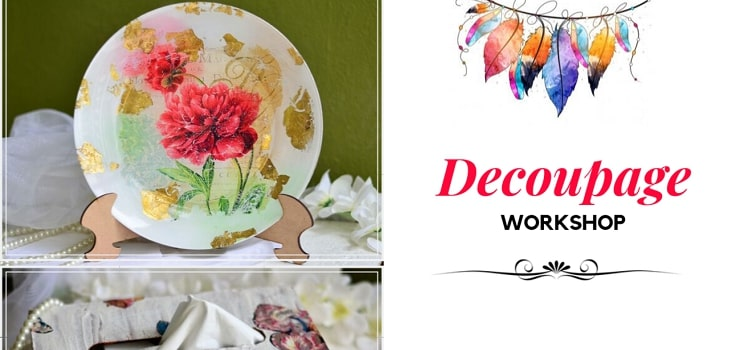 Decoupage Workshop At Smiling Walls Chandigarh