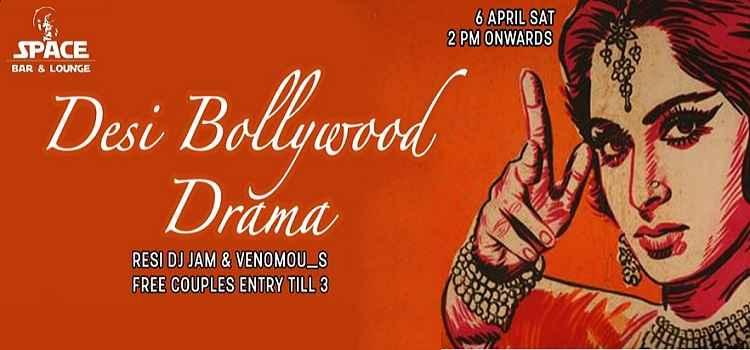 Desi Bollywood Drama At Space