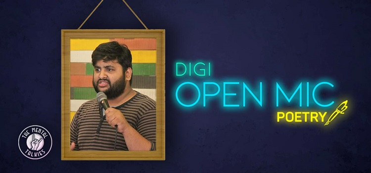 DiGi  Online Open Mic: Poetry and Storytelling