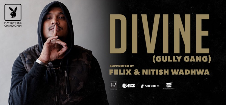 GullyBoy Divine Live At Playboy Club Chandigarh