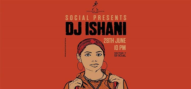 DJ Ishani at Sector 7 Social