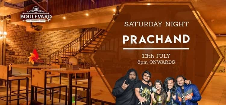 Saturday Night Ft Prachand at 26 Boulevard
