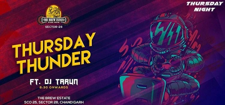 Thursday Thunder With DJ Tarun At The Brew Estate