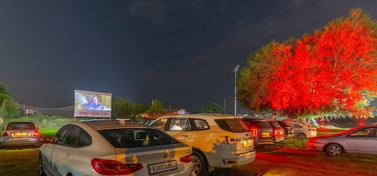 Drive-In Cinema Chandigarh - Watch Your Favourite Movies Under The Stars