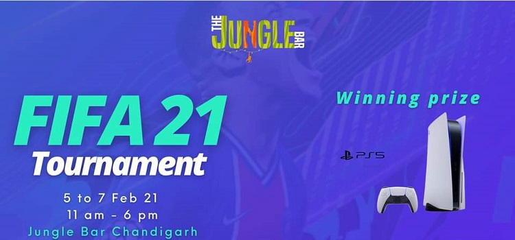 EA Sports FIFA 21 At The Jungle Bar Chandigarh