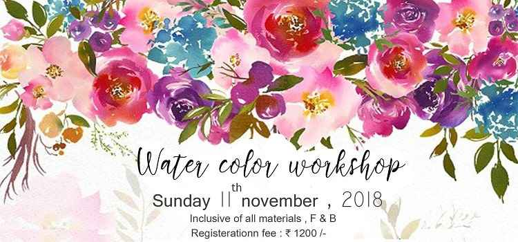 Eat, Paint & Frame Your Art : Water Colour Workshop At Cafe JC's, Chandigarh