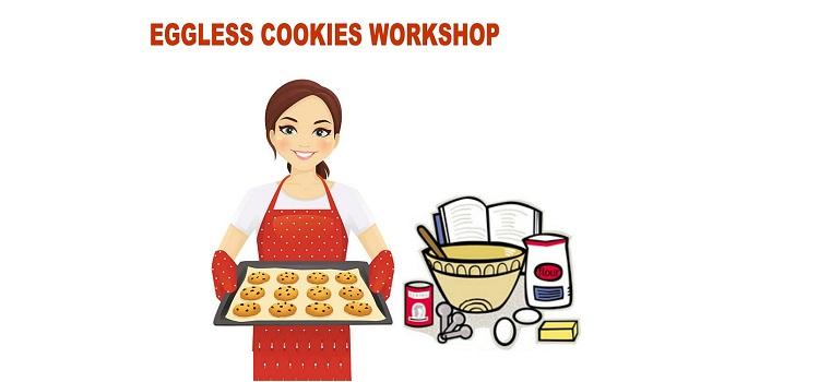 Eggless Cookies Workshop At Smiling Walls