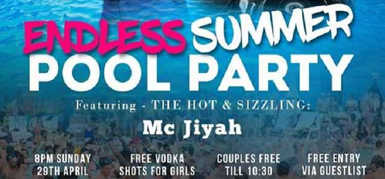 Endless Summer Pool Party At Hotel North Park