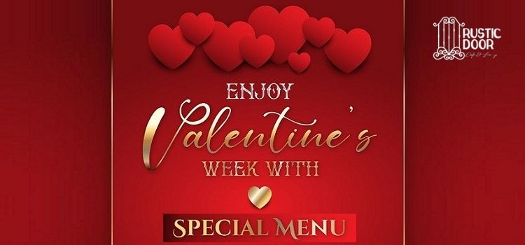 Enjoy Valentine's Special Meal At Rustic Door