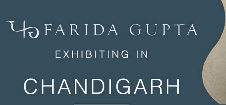 Farida Gupta Exhibition at Himachal Bhawan by Himachal Bhawan