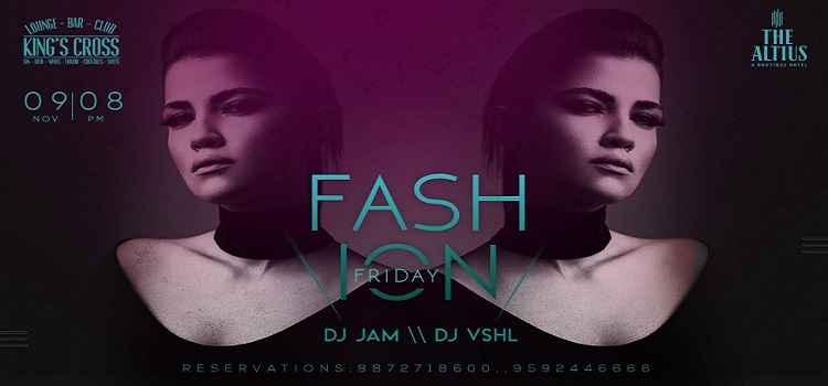 It's Fashion Friday : Dj Jam // Dj Vshl At Kings Cross, Chandigarh