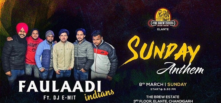 Faulaadi Indians Live At The Brew Estate Elante