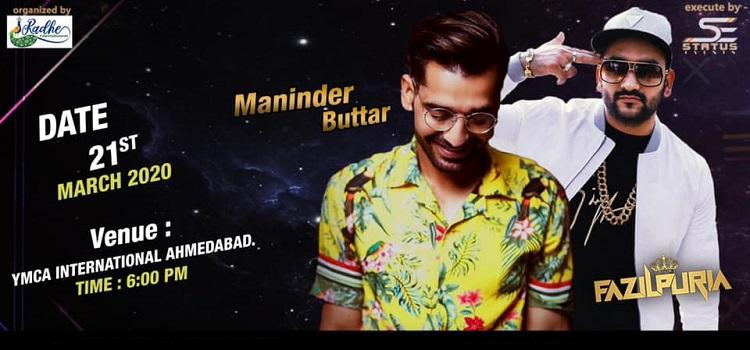 Maninder Buttar Live Concert In Ahmedabad