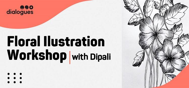 Online Floral Illustration Workshop With Dipali by Online Events