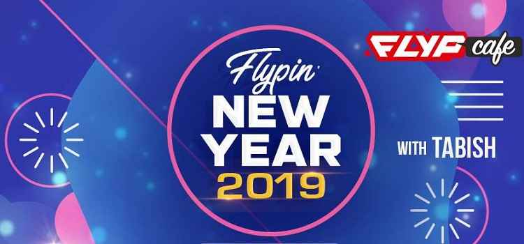 Flypin' New Year 2019 At Flyp Cafe