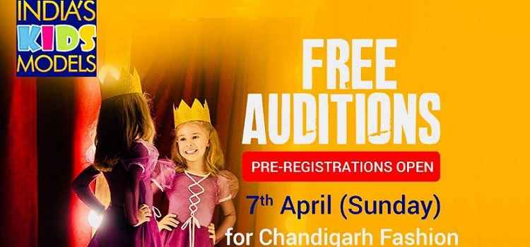 Free Auditions: kids Fashion Show In Chandigarh