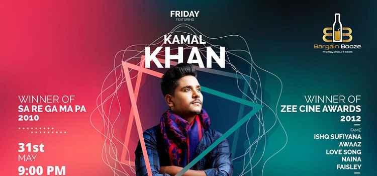 Friday Musical Night Ft. Kamal Khan At Bargain Booze