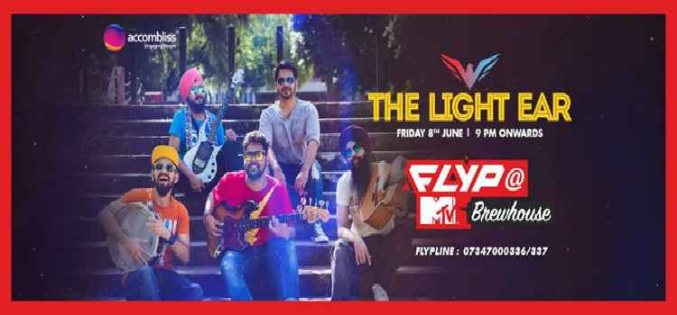 Fun-tastic Friday With The Light Ear Live at Flyp@Mtv, Chandigarh.